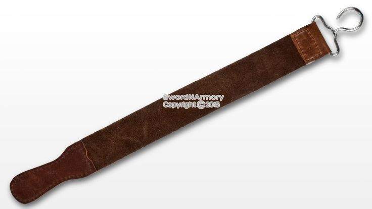 """20"""" Real Leather Barber Straight Razor Sharpening Strop B..."""
