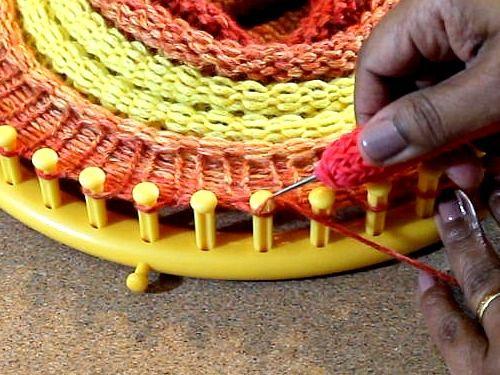 123 Best Loom Knitting Images On Pinterest
