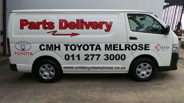 Toyota Melrose Parts Delivery Van