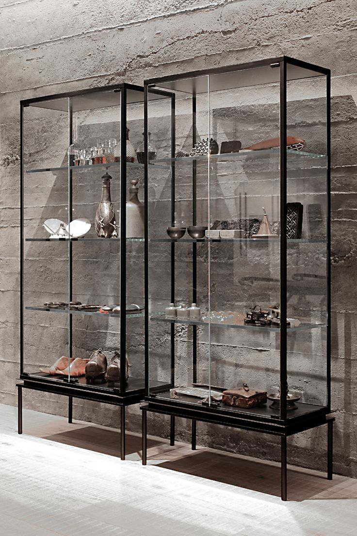 Metal Glass Display Cabinet