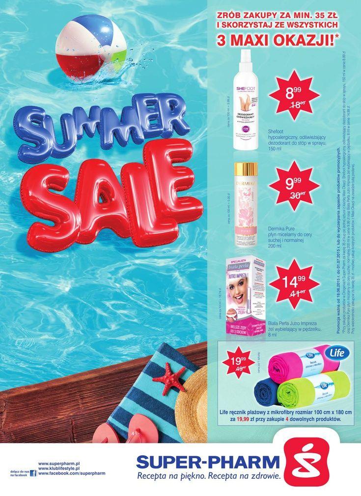Wakacyjne wyprzedaże! http://www.promocyjni.pl/gazetki/24485-summer-sale-gazetka-promocyjna-n37-p1-c1-k10-k39#page=1