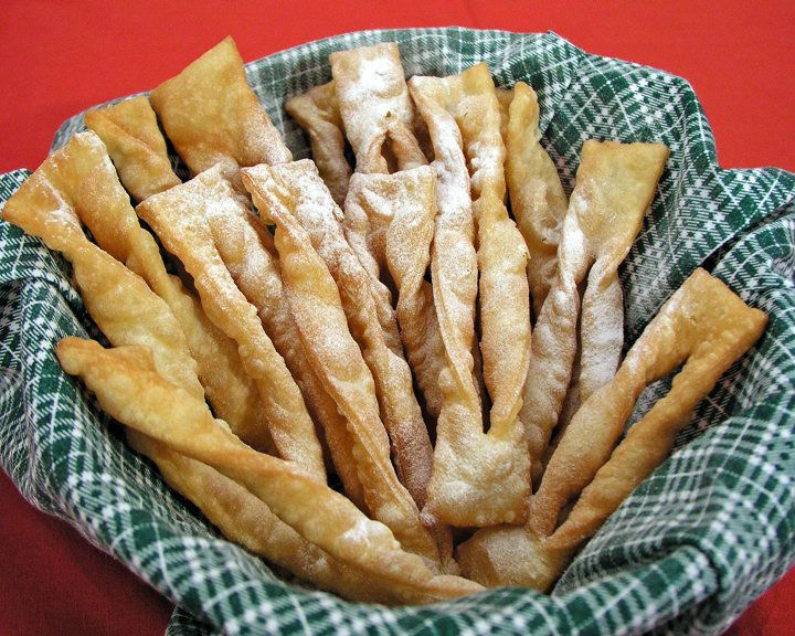 Croatian Recip - krostule-img. I don't remember Grandma Bellan ever making these but they look good and I'd like to keep my heritage alive.