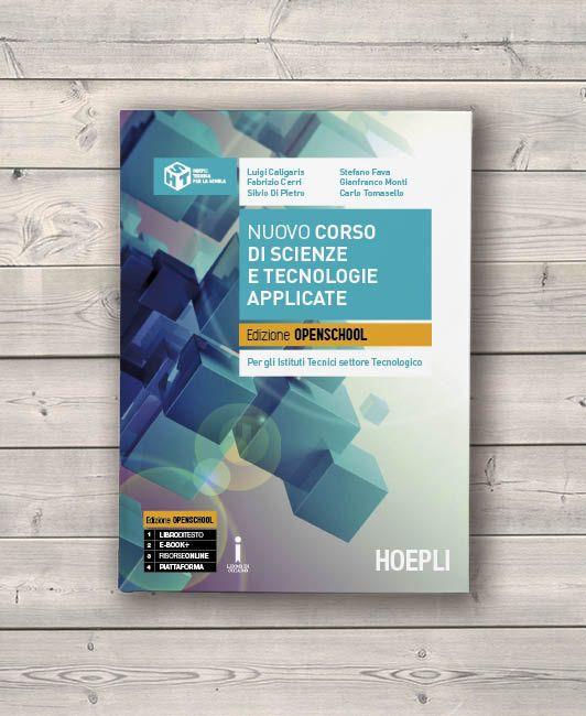 Cover design / Technical book / Hoepli Editore