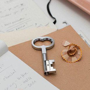 Sacapuntas de llave | 33 Accesorios de escritorio que mejorarán tu día