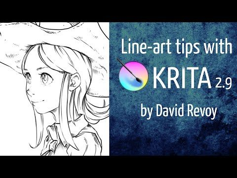 24 Krita Free Tutorials Online made for You – Malache Deux