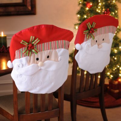 Santa Chair Covers, Set of 2 | Kirkland's: