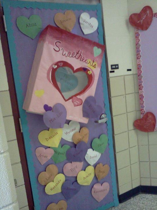 Valentines Door Butcher Paper School Creations 2012