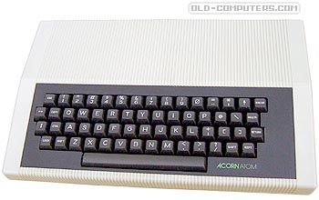 Acorn Computer  ATOM  	    The Acorn Atom was the ancestor of the BBC computers series. It was sold in kit or ready-assembled versions.    The great advantage of the Atom compared to its competitors (TRS-80 & PET), was its high resolution capabilities (256 x 192) which were quite unusual in 1979 for the price.