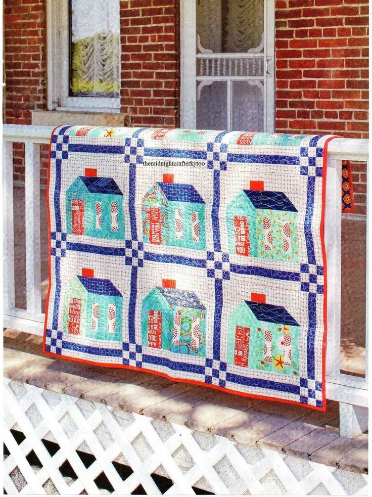 90 best House Quilts images on Pinterest | Haus quilts, Quiltmuster ...