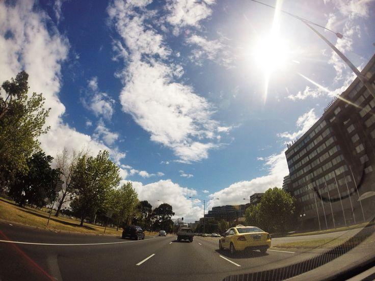 St Kilda road in Melbourne..Love it!!