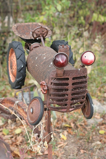 junk tractor..  by George.....Austin