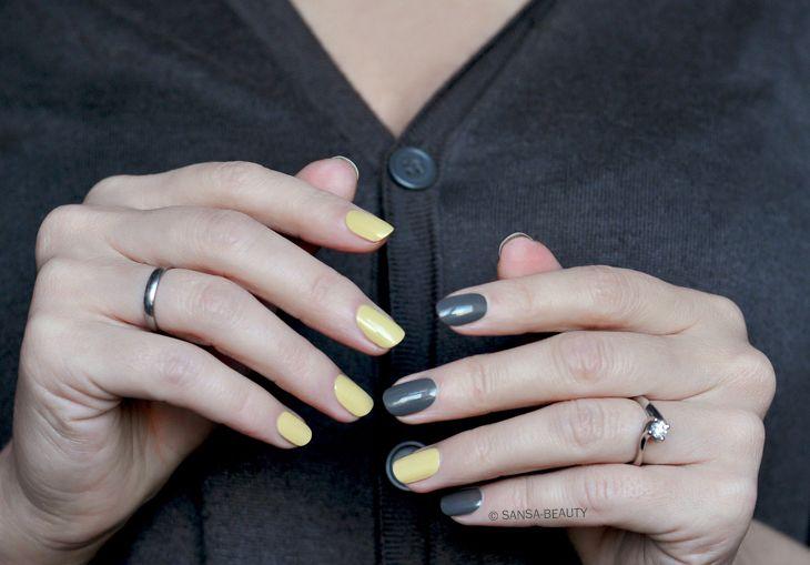 Burberry: Steel Gray 200 & Pale Yellow 415