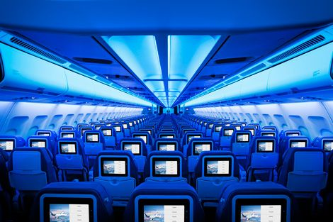 Air Transat unveils new cabin interiors - Business Traveller #travel #aircraft