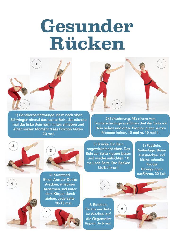 Perfekt Heute Ist Tag Der Rückengesundheit! Hier Die 10 Minuten Daily Rücken  Routine!