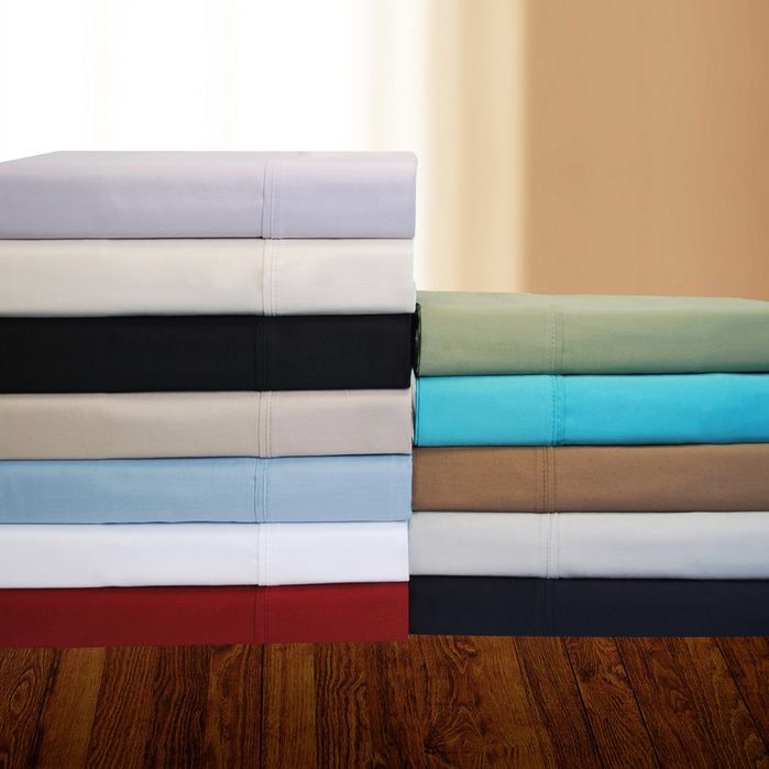 Features:  -Fully elasticized fitted sheet.  -Machine washable.  -Twin and twin XL sets include 1 fitted sheet, 1 flat sheet and 1 pillowcase.  -Full, queen, king and California king sets include 1 fi