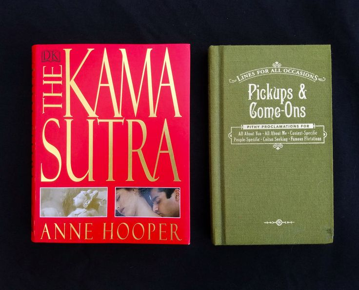 DK Kama Sutra & Pickup Lines and Come-ons Books Hardback & Paperback Risque