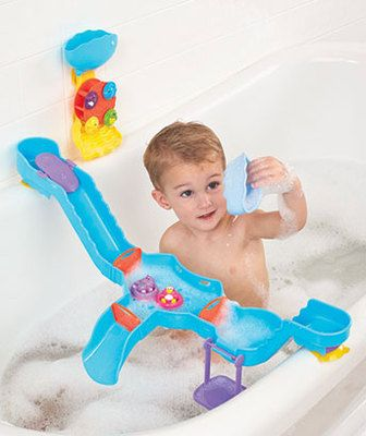 Tub Time Water Park Play Set Kids Child Baby Toddler Bath Toy Ages 12M + on eBay!