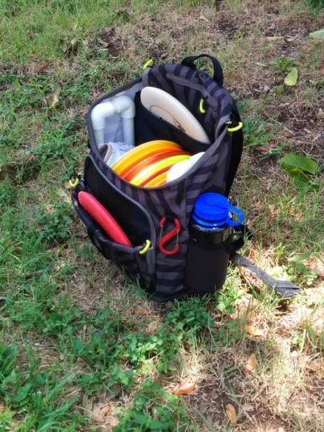 Picture of DIY Disc Golf Backpack