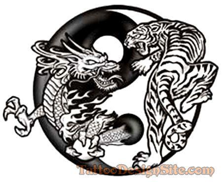 18 best images about yin yang dragon tiger on pinterest. Black Bedroom Furniture Sets. Home Design Ideas
