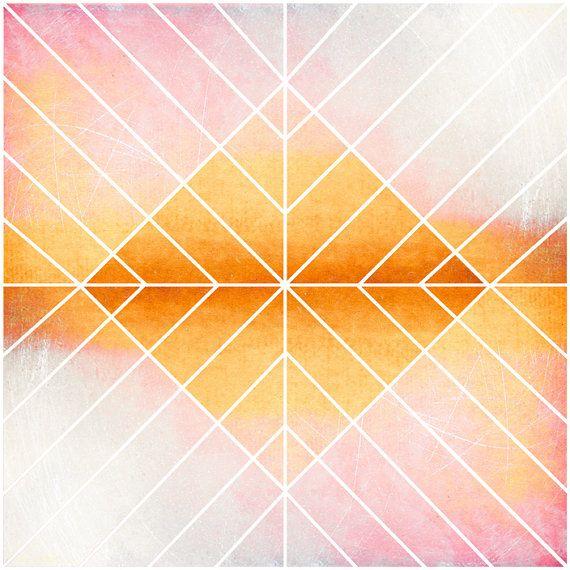 Geometric design art deco art nouveau home decor by JaneRovers, $25.00