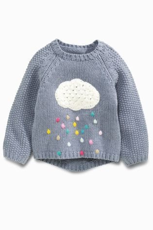 "Buy Blue Cloud Jumper (3mths-6yrs) from the Next UK online shop [ ""2016 New Girls Baby Sweater little princess Cartoon clouds rain rainbow pullover sweater wholesale"", ""Buy Blue Cloud Jumper online today at Next: United States of…"", ""Pepes new one"" ] #<br/> # #Baby #Sweaters,<br/> # #Pullover #Sweaters,<br/> # #Jumper,<br/> # #Baby #Girl #Fashion,<br/> # #New #Girl,<br/> # #Little #Princess,<br/> # #Baby #Girls,<br/> # #Clouds,<br/> # #Rainbows<br/>"