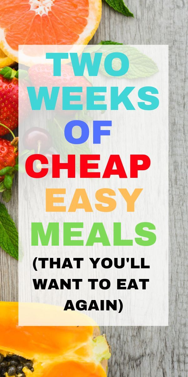 14 budget recipes, cheap easy meals you should try
