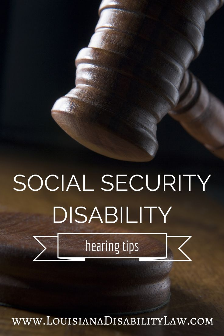 These are a few basic Social Security #disability #hearing tips that are generally applicable. In some cases, additional things may be added due to a specific judge's preferences. If you need assistance with your #SSDI hearing, contact a local Social Security disability attorney who knows the ins and outs of the offices in your area. Read more from disability attorney at http://www.louisianadisabilitylaw.com/2014/02/louisiana-social-security-disability-hearing-tips/