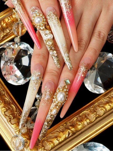 The 62 best Competition nails images on Pinterest | Nail scissors ...