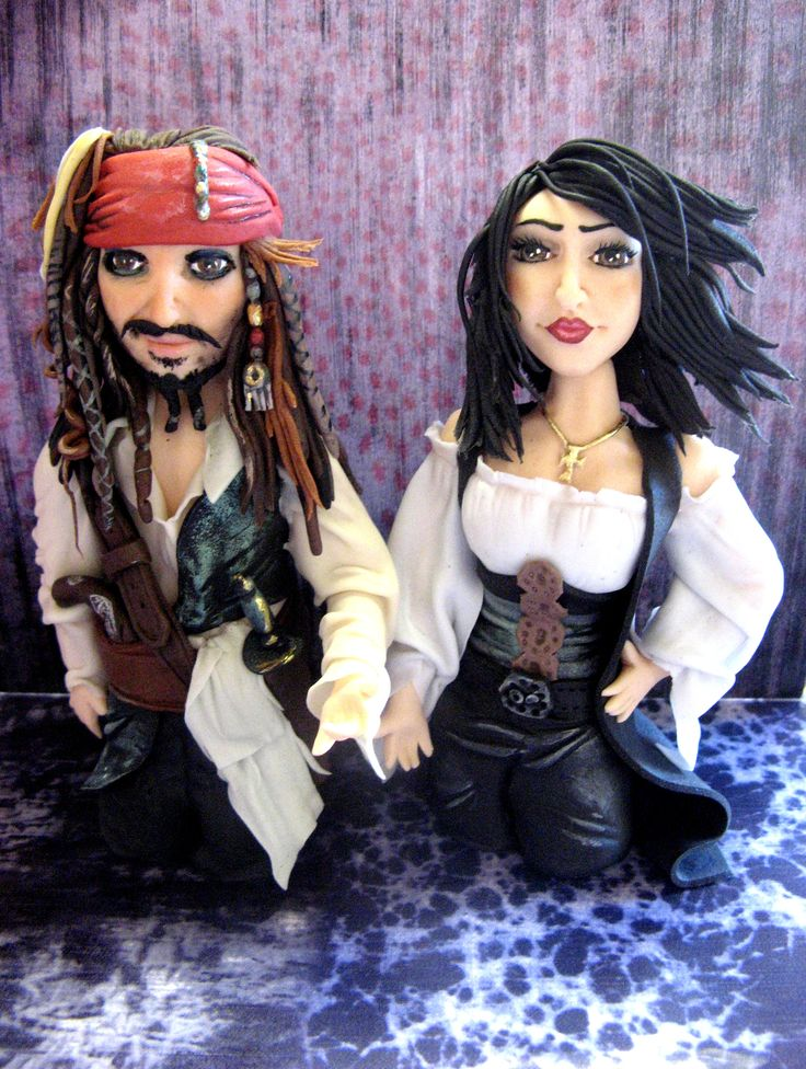 # Pirates of the Caribbean # Pirates #cake topper