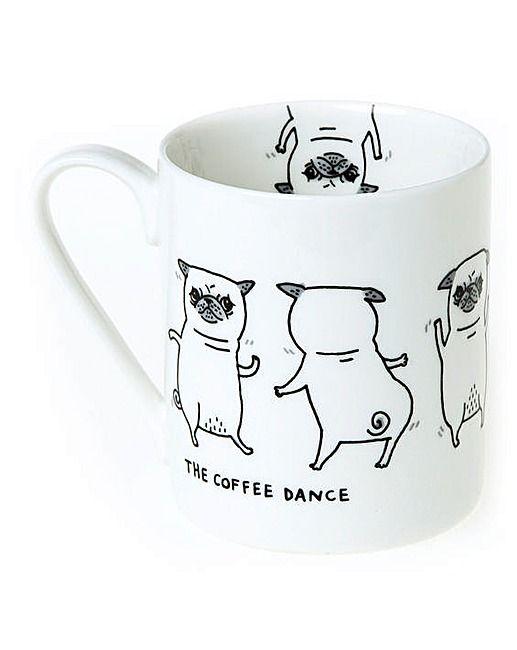 Pickle Parade Coffee Dance Mug | The Brilliant Gift Shop