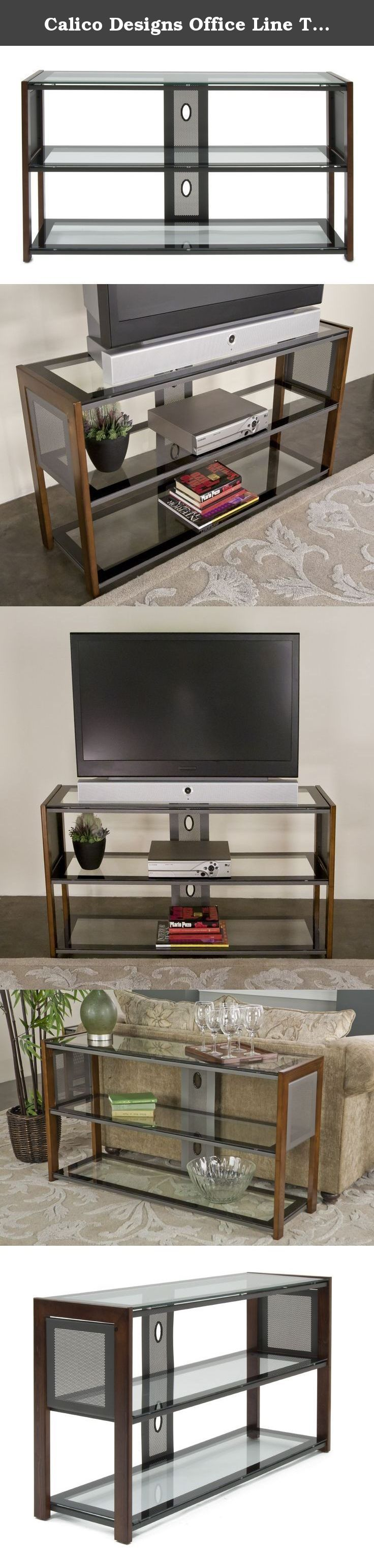 """Calico Designs Office Line TV Stand in Sonoma Brown 56007. Reintroducing Studio Designs' Flat Files: Five slide-out drawers are designed for accessible active or archival storage. Features a durable steel frame construction and steel roller guides for smooth and easy operation. An interior steel flap panel in each drawer keep files neat and orderly. Overall dimensions: 40.75""""W x 28.5""""D x 15.5""""H. Drawer dimensions: 37.25""""W x 25.75""""D x 1.75''H."""