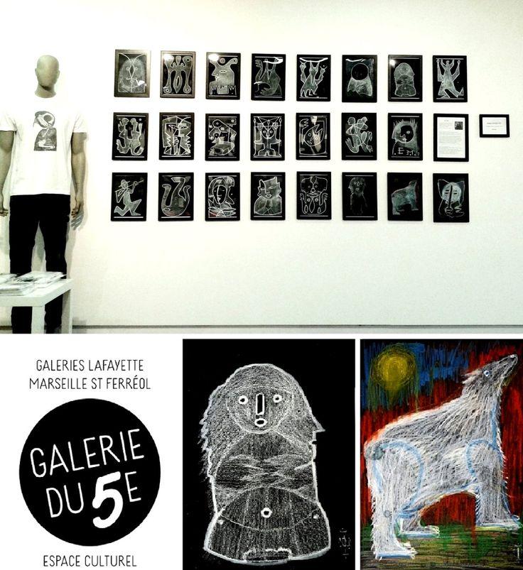 """Demain soir, nous souhaiterions vous inviter au vernissage du """"Christmas Art Market 2016"""" aux Galeries Lafayette St Ferréol, dans leur espace culturel au 5e étage - nous serons présents avec notre artiste Davide Cicolani ! A demain, à partir de 18.00 !"""