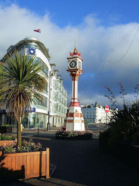The Jubilee Clock, Douglas, Isle Of Man.