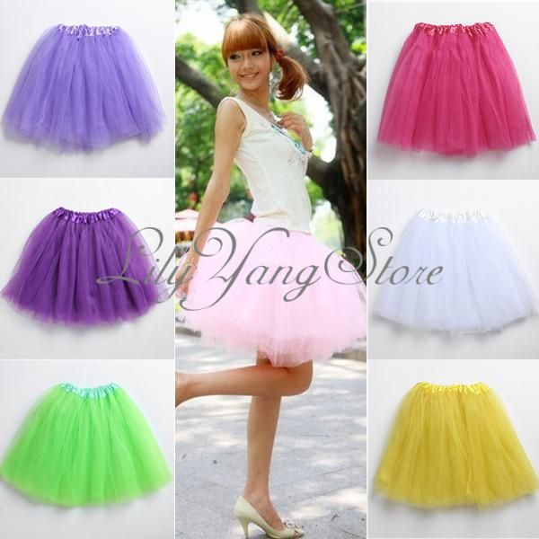 Women Girl Elastic Tutu Ballet Skirt Stretchy Bridesmaid Party Ball Tulle Dress | eBay