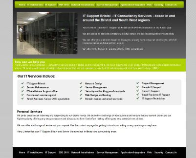 Domain Name and Email, With our on-site and off-site servers.