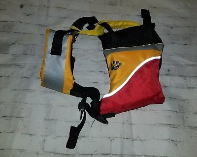 Dog Life Jacket Vest by MTI Underdog Mango Red Doggy PFD Life Vest XS 2-12lbs