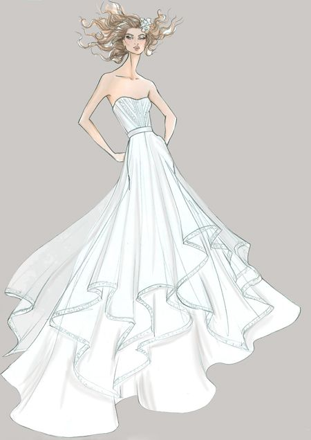 dress sketches 2012