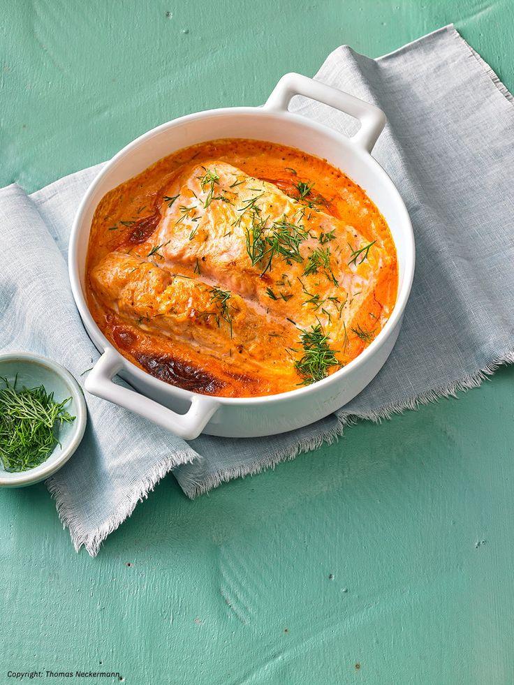 Lachs – Sahne Gratin – Chefkoch