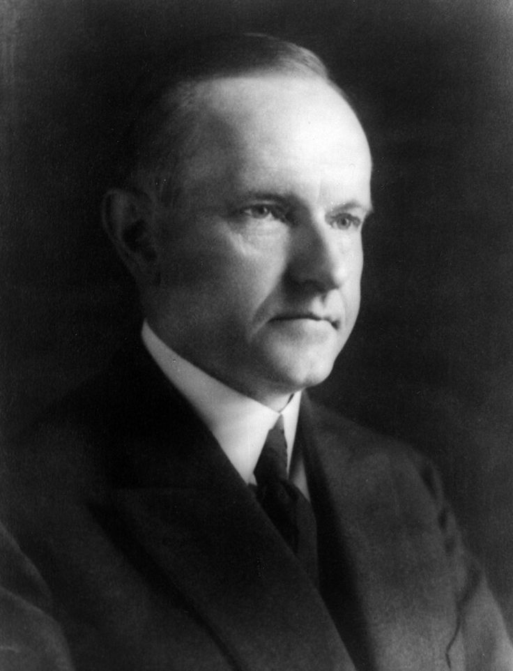 Calvin Coolidge's second inauguration was the first time a former ...