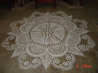 KALAS KOLANGAL: Kolam - The Traditional Floor Drawing of South India