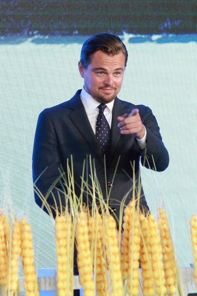Leonardo DiCaprio's Latest Appearance Proves He's Still on Cloud Nine After His Oscar Win