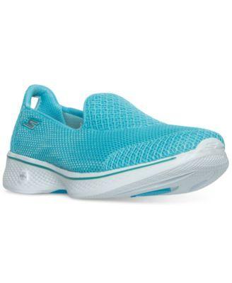 Skechers Women's GOwalk 4 - Propel Walking Sneakers from Finish Line | macys.com
