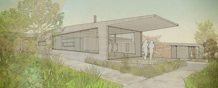 Casa la Punta, San Francisco de Mostazal, Santiago, diseñada en conjunto con Gianfranco Moroni