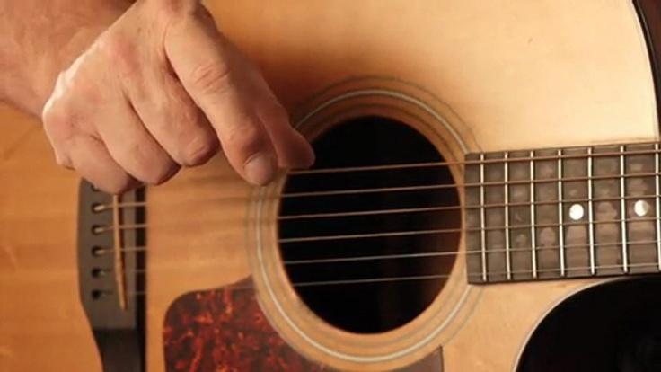 Guitar picking patterns