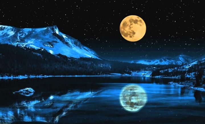 Full Sturgeon Moon  Beauty Majestic Breathtaking Clearity Inhale thru your Nose, You can Feel the Cold just by looking at the Photo!