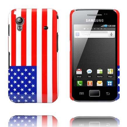 US Flag Samsung Galaxy Ace Deksel