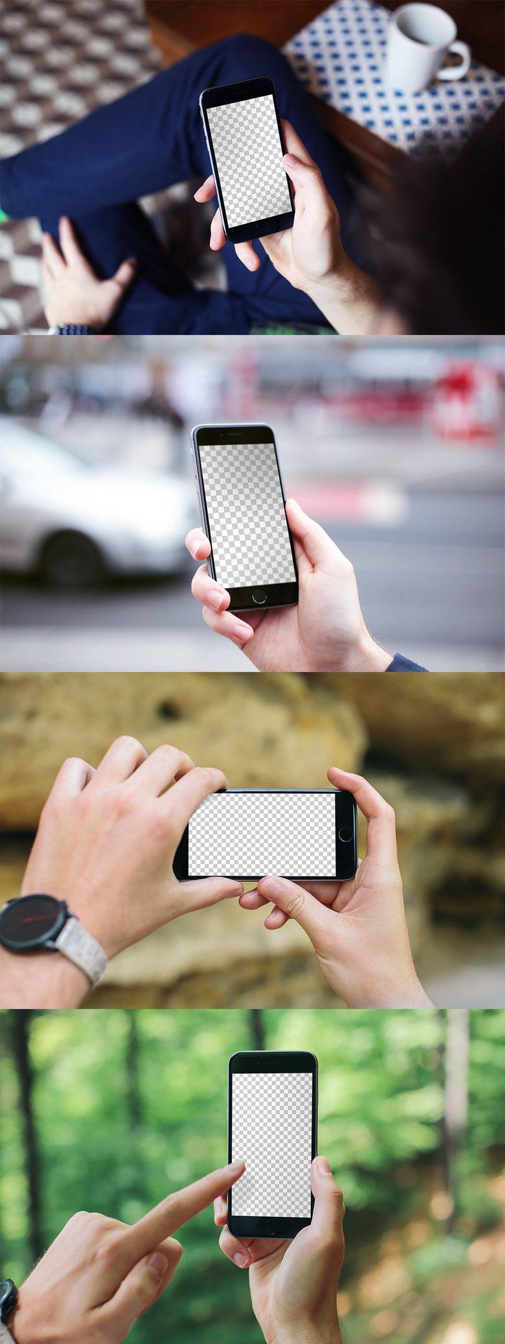 IPhone 6 #Mockup #PSD #Templates