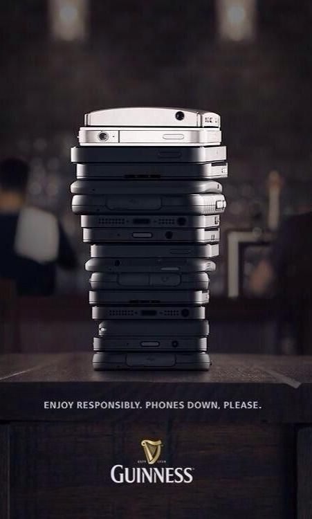 You don't need tech to enjoy a Guinness, according to Guinness' new ad.