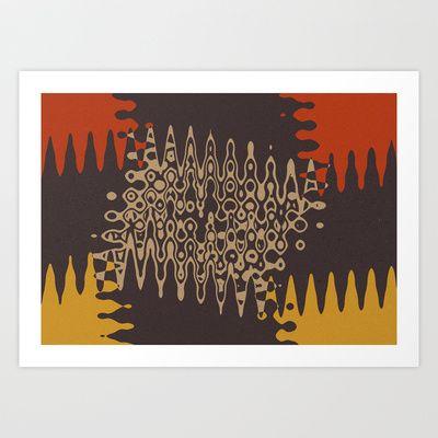 Ethnic Art Print by Sonia Marazia - $15.60