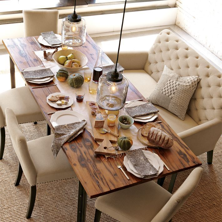 Best Dining Table Settings Ideas On Pinterest Kitchen Craft - Dining room table setting